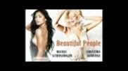 New!!! Nicole Scherzinger feat. Christina Aguilera - Beautiful People (2011)