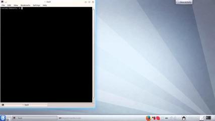 Linux урок - инсталиране на sh файлове (kubuntu)