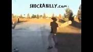 скеитър се бие smqh