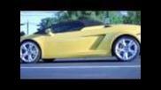 Race | Lamborghini Gallardo Spyder vs. Gallardo Coupe
