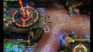 Legue Of Legends - Играя с Ezrael на Dominion