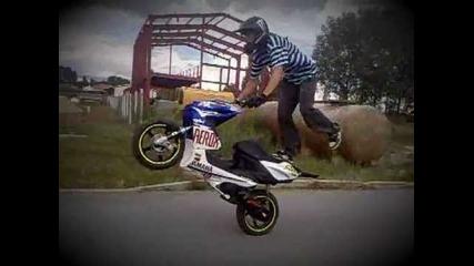 Yamaha aerox stunt 2011