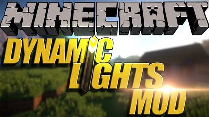 Minecraft Mod Showcase : Dynamic Lights 1.7.10