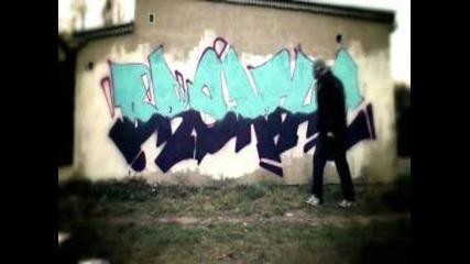 Graffiti Bombing in Poland