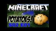 Minecraft Картофено оцеляване - S02 E01 - Началото