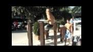 Е t4v си е лут,тренировка на плажа :) (rappongi beach)