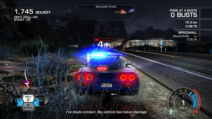 Need For Speed Hot Pursuit - Dust Storm