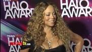 Mariah Carey Teennick Halo Awards 2012 Arrivals
