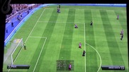 Fifa 14 - Gameplay Barcalona vs Atletico Madrid E3 2013 Off-screen Demo