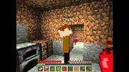 Minecraft Power Survival Ep1 - Колиба и пещера ..
