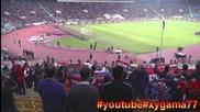 България - Хърватия (подкрепа на феновете)