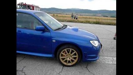 Putno Gt Whitepower Vs Subaru Impresa 340hp-puntoto padna :)