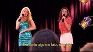 Violetta - Violetta e Ludmila cantam Te creo