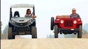 Джипче от 1946 Willys Jeep vs John Deere Gator