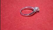 годежен прьстен с диамант Kirkorian Diamonds