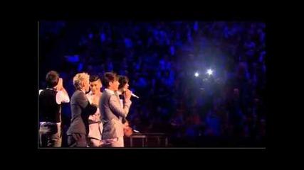 Brit Awards 2012 One Direction wins Best British Single. + Rihanna
