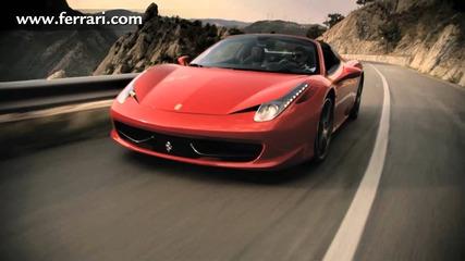 Ferrari 458 Spider Official Video