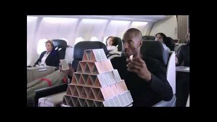 Забавна реклама с Лео Меси и Коби l Turkish Airlines l