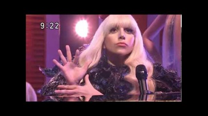 Неповторим талант Lady Gaga - Applause live