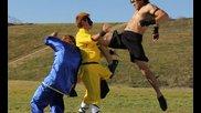 2 кунг фу срещу бокатор - бойна сцена