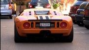 Supercars in Monaco New Year 2013 - F12 Berlinetta, Ford Gtx1, Enzo, Lm002 &