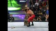 Edge & Rey Mysterio Vs Los Guerreros Vs Kurt Angle & Chris Benoit