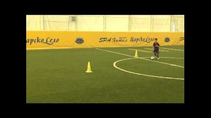 Top training in football academy Barca Bg Sofia Bulgaria