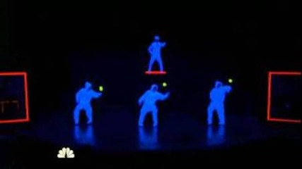 Fighting Gravity - Guest Appearance on Agt 2011