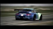 Falken Tire 2009 Gt2 Porsche 911 Rsr Testing