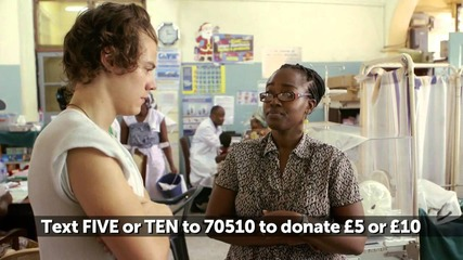 Harry and Liam from One Direction visit an African emergency room | Red Nose Day 2013