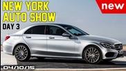 2015 Ny Auto Show, Cadillac Xt5, New Mercedes C-class - Fast Lane Daily