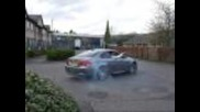 Bmw E92 M3 Doing Donuts