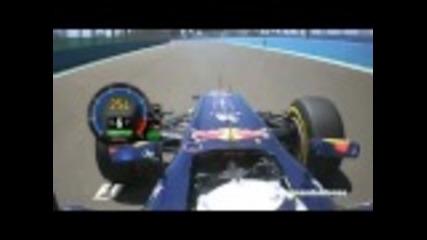 F1 2011 Valencia Gp Sebastian Vettel Onboard Pole Lap