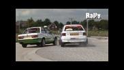 Rally Astra vs. Bmw 325i rally crash