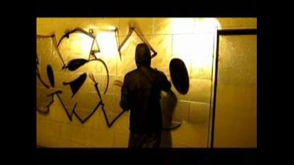 Graffiti bombing: Rasko