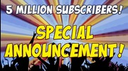 Yogscast 5 Million Subscribers! Special Announcement
