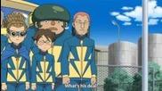 Inazuma Eleven Episode 37 Part (1/2) - Teikoku Strikes Back - First Half!!