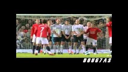 Cristiano Ronaldo - Top 10 Free Kicks manchester united