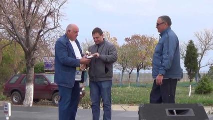 Награждаване на Поморийския Отбор в Несебър 02.11.2013
