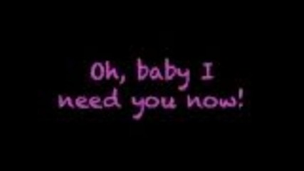 Glee - Need you now (lyrics)