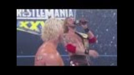 Edge singing Goodbye to Dolph Ziggler / Smackdown 18/2/11 :d