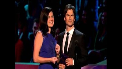 Ian Somerhalder presenting at the 2013 People's Choice Awards