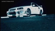 Nissan Skyline R34 vs Nissan Gt-r and Corvette Zr-1