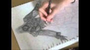 Assassins Creed - Ezio Speed Drawing
