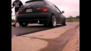 1992 Honda Civic Eg, Gt3076r D-bb Turbo! 30psi Launch Control Test