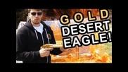 Gold Desert Eagle 50 Cal