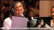 Селена Гомез- Live Chat- Париж, 3.09- Част 3