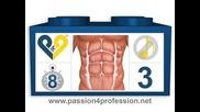 Част 3 Най - Добрата Тренировка За Корeмни Мускули * 8 Упражнения По 8 Минути На Ден За 6 Плочки