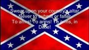 To arms in Dixie - Lyrics