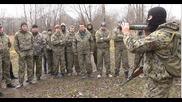 Сбор на школата по казачи ножеви бой - Кнб - Лекция на боеви офицер